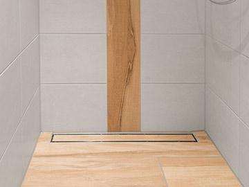 Geflieste Dusche barrierefreie duschen und bäder; geflieste duschbereiche